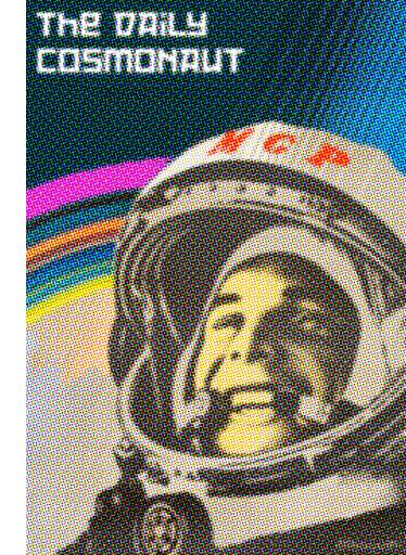 Daily cosmonaut