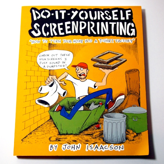 Diy screenprinting how to turn your home into a t shirt diy screenprinting by john isaacson from cantankerous titles on vimeo solutioingenieria Choice Image