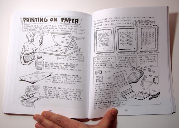 The complete book of silk screen printing production paperback ebook diy screenprinting how to turn your home into a t shirt diy screenprinting by john isaacson from fandeluxe Image collections